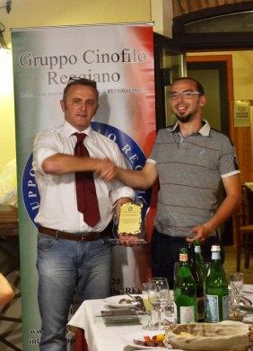 Premiazione del Gruppo Cinofilo Reggiano