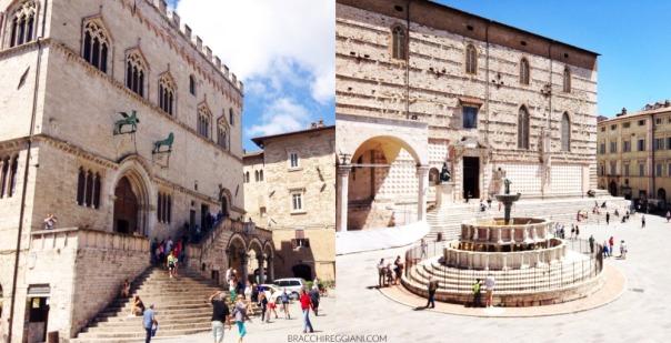 Palazzo dei Priori & Fontana Maggiore